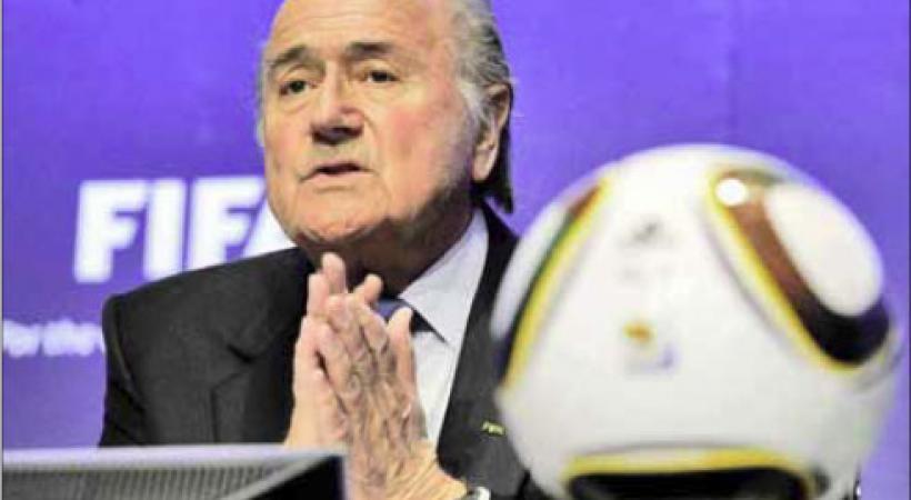 Sepp Blatter. DR
