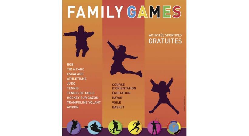 Ce dimanche 5 mai auront lieu les Family Games au stade de Coubertin.