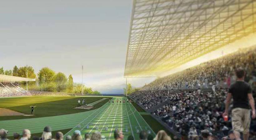 Les grandes installations sportives ont été relocalisées sur trois sites.