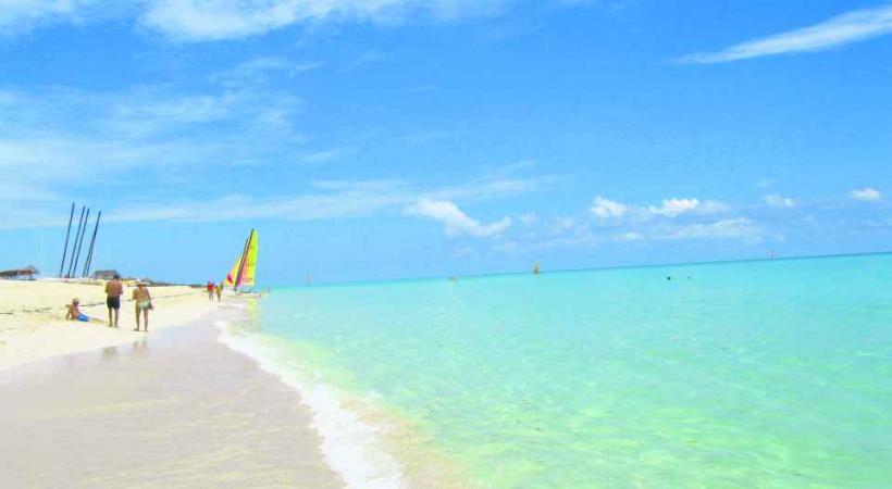 La magnifique plage de Caya Largo.