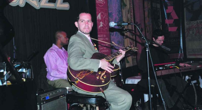 Jazz dans un café du centre historique.