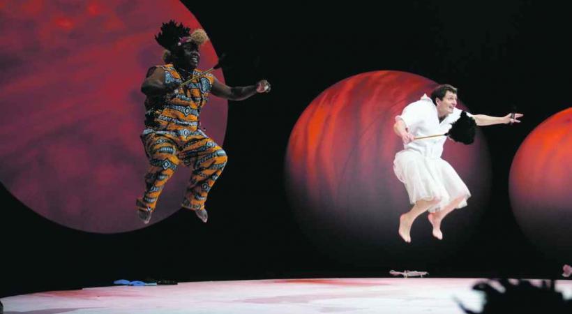 Du théâtre-danse sous les couleurs de l'Afrique du Sud. DR