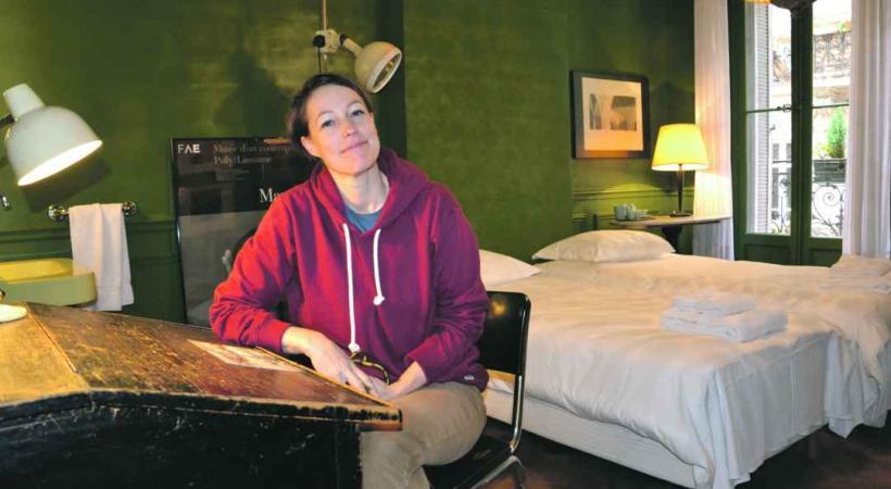 Bernadette Rochat a ouvert la «Pension Edelweiss» au coeur de Marseille.