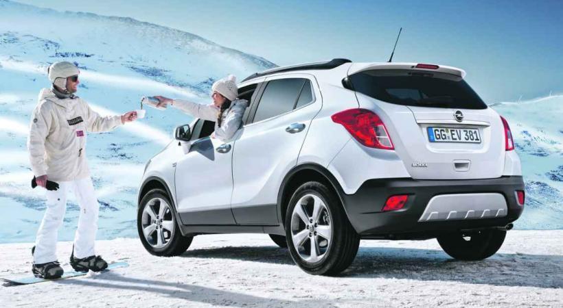 Petit nouveau: l'Opel Mokka pointe le bout de son nez