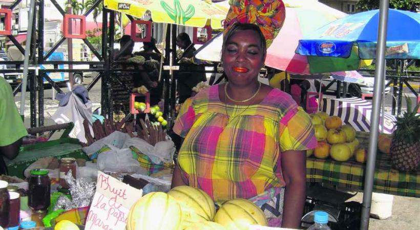 Des marchés très colorés.