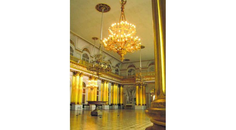 L'Ermitage, somptueuse résidence d'hiver des Roumanov.
