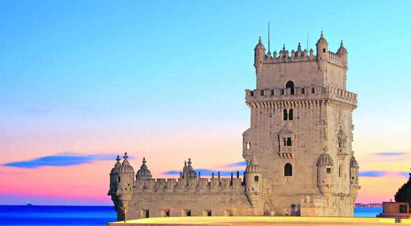 La tour de Belem à Lisbonne.