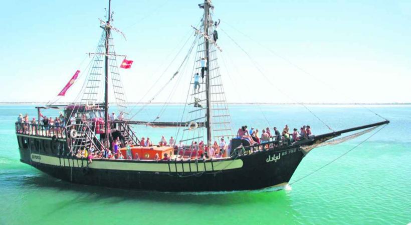 Bateau pirate à Djerba