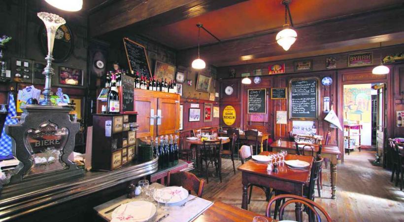 Le Café Abel, un des bouchons lyonnais pour déguster la gastronomie traditionnelle locale.