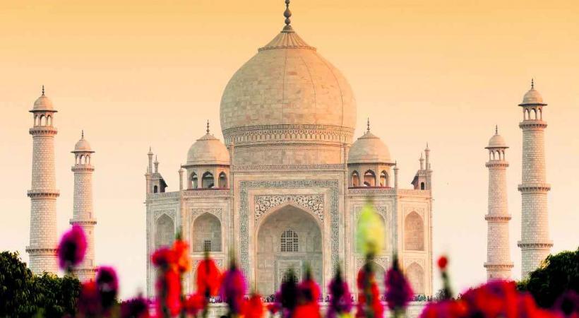 Le somptueux Taj Mahal.