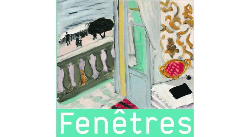 FENETRES: Des oeuvres de Dürer, Monet, Magritte et bien d'autres à la Fondation de l'Hermitage.