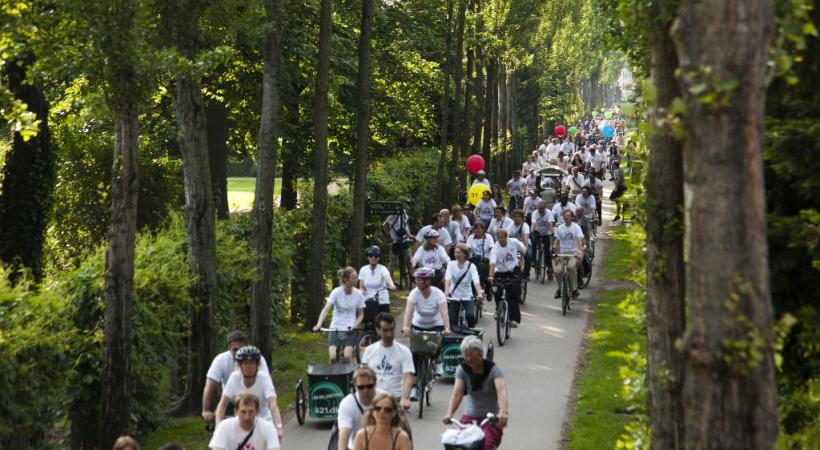 Chaque année, la ville accueille le Copenhagen Bike Festival, grande fête de lal bicyclette et de ses adeptes. OT COPENHAGUE