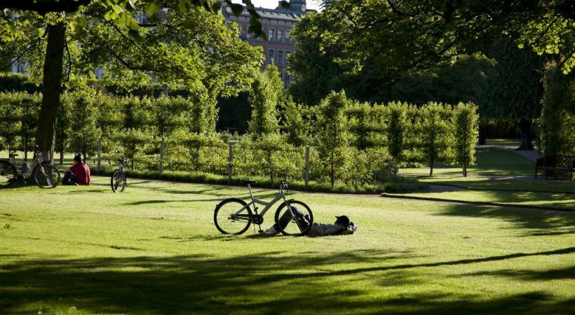 Vile verte par excellence, la capitale danoise compte de nombreux parcs. Ici les jardins du Roi. NICOLEI PERJEIS / DR