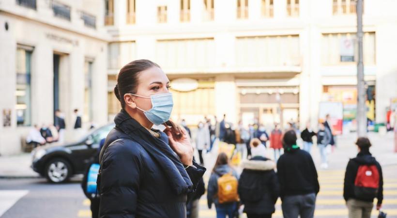 Selon la police lausannoise, le port du masque a plutôt bien été respecté par la population. 123RF