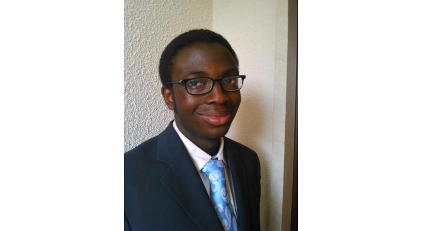Alexander Omuku, 16 ans, Vice-président de la commission de jeunes du canton de Vaud. DR.