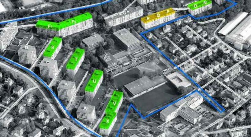 Un plan de quartier rejeté par la population. dr