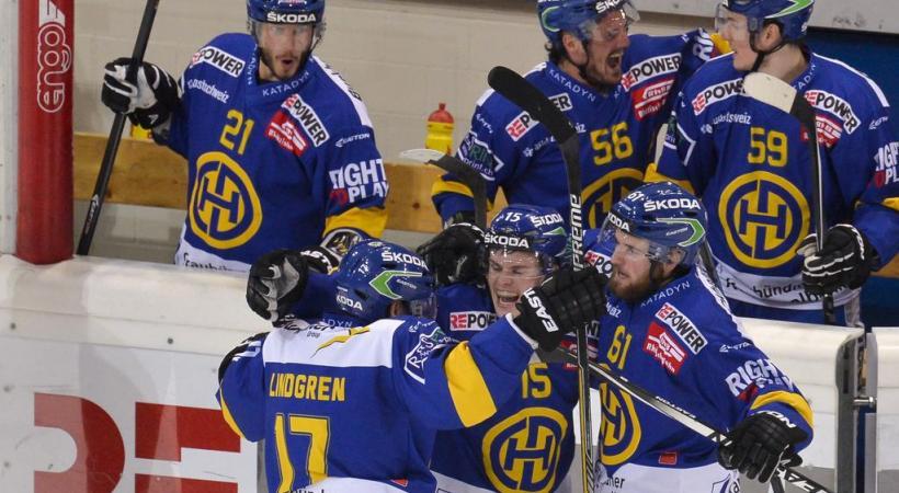 Le HC Davos, une équipe solide avec un coach qui ne l'est pas moins. DR