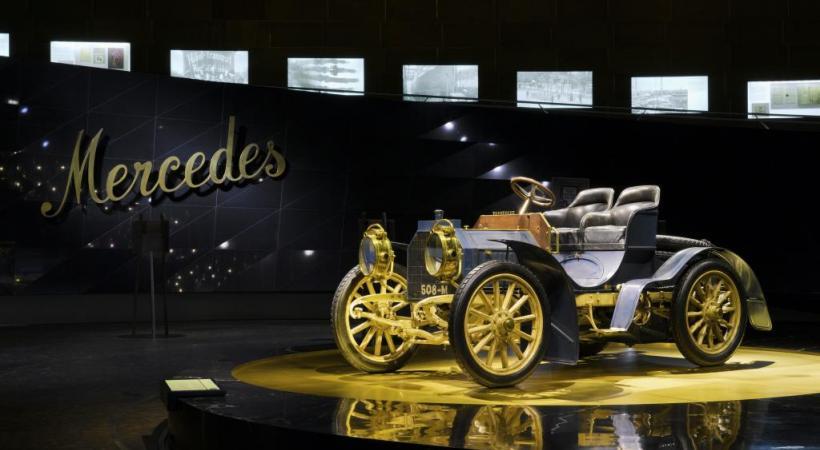 Stuttgart se classe au 7e rang des villes d'Allemagne les plus visitées. DR Le musée Mercedes Benz. DR Le musée Porsche. DR Retour aux sources de Mercedes. DR