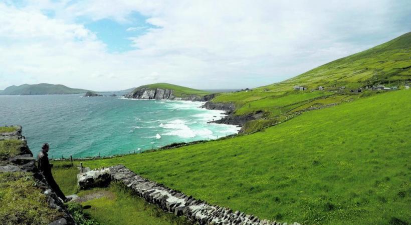 Le somptueux panorama de la Péninsule du Kerry.