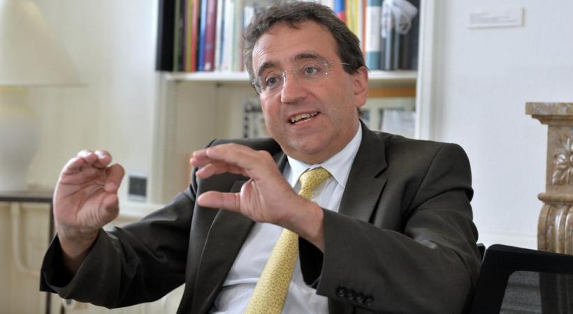Pascal Broulis, Conseiller d'État en charge des finances vaudoises. PHOTO: VERISSIMO