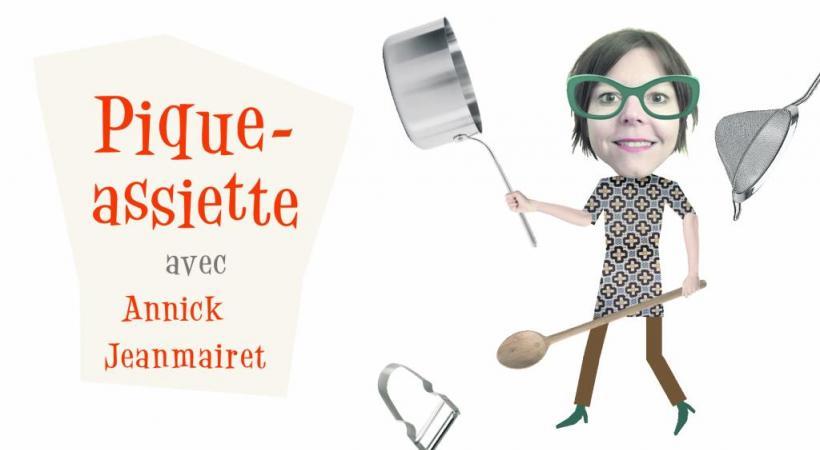 Pique-assiette avec Annick Jeanmairet. DR