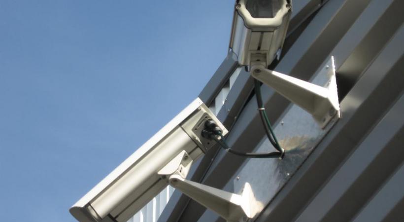 A lausanne, les caméras de surveillance sont partout, comme ici Place de l'Europe. CHARAF