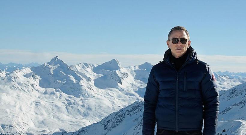 Les sommets entourant Sölden offrent un coup d'œil à 360 degrés sur les Alpes et les Dolomites. ÖTZTAL TOURISMUS Daniel Craig alias James Bond à Solden pendant le tournage de «Spectre». DR Chaque année, quelque 200'000 personnes se déplacent pour faire la connaissance d'Ötzi. DR