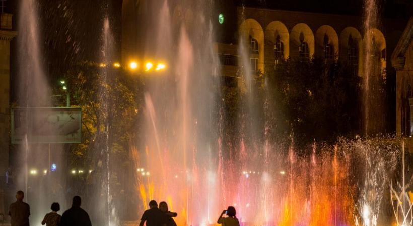 Erevan la nuit. DR