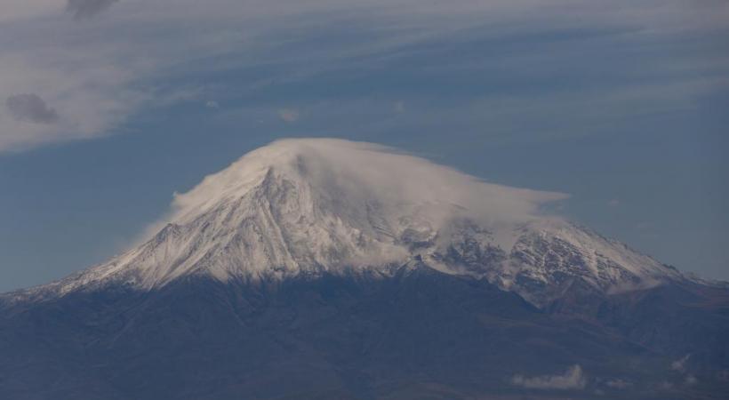 Le Mont Ararat, montagne sacrée des Arméniens. DR