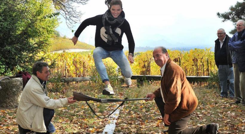 Léa Sprunger et Jacky Delapierre en plein boulot. VERISSIMO