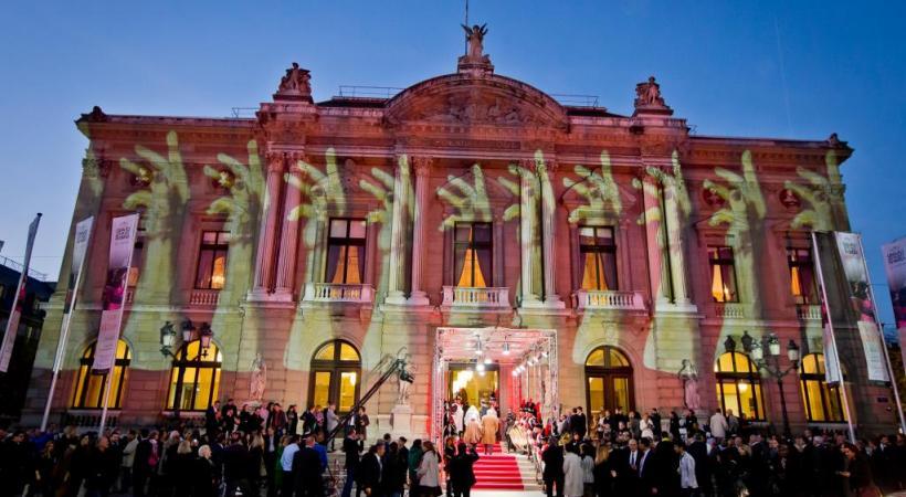 Lors de cet événement, le Grand Théâtre de Genève accueille chaque année des dizaines de médias du monde entier. dr
