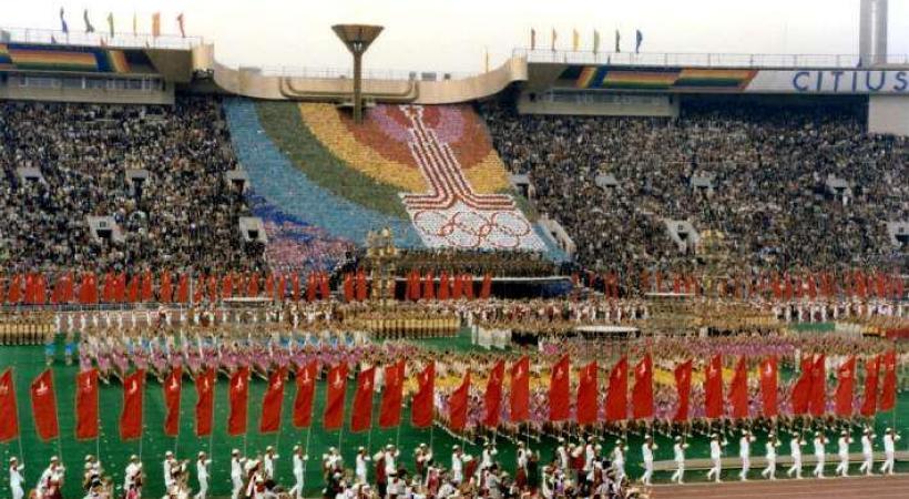 1980 - Les JO boycottés. dr