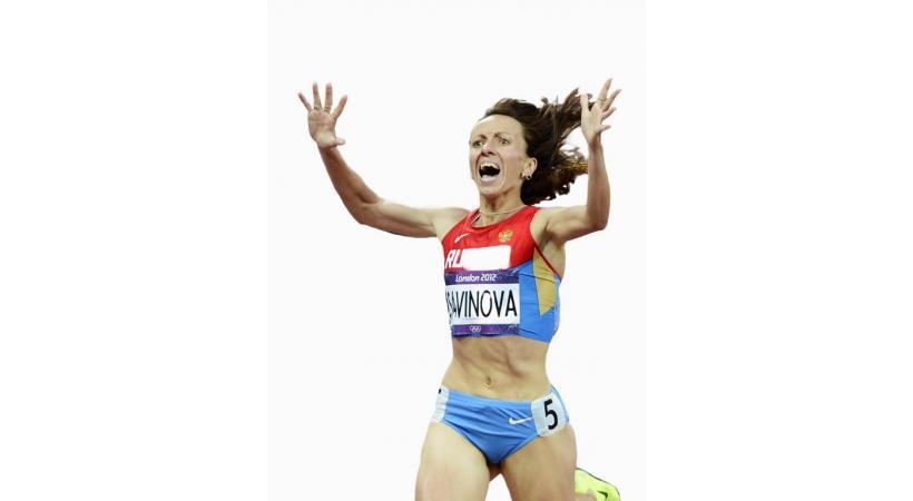 Suspension à vie réclamée contre Mariya Savinova, championne olympique en titre du 800 mètres. dr