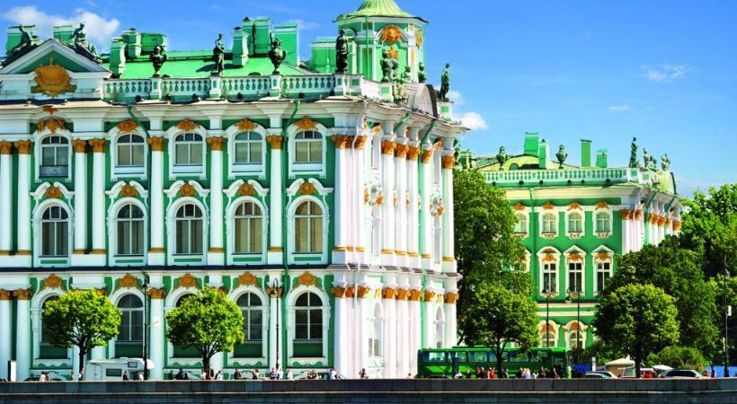 Musée de l'Ermitage à Saint-Pétersbourg.