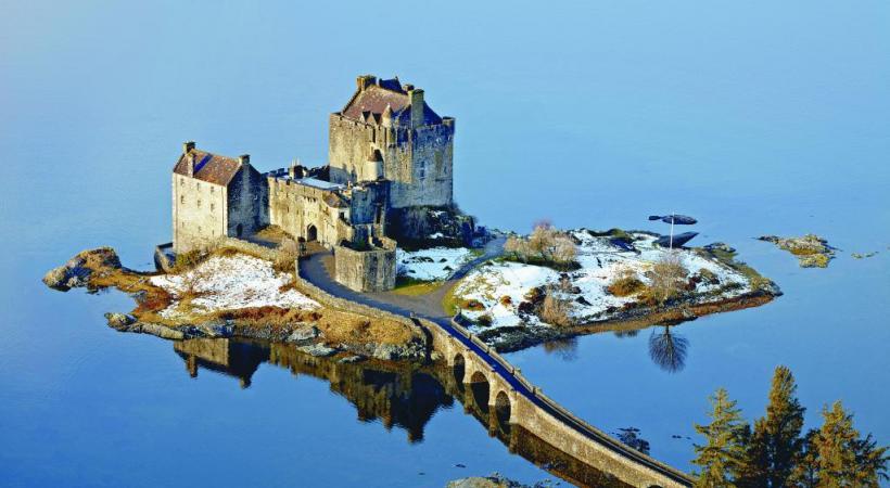 Eilean Donan est considéré comme le château le plus romantique d'Ecosse.