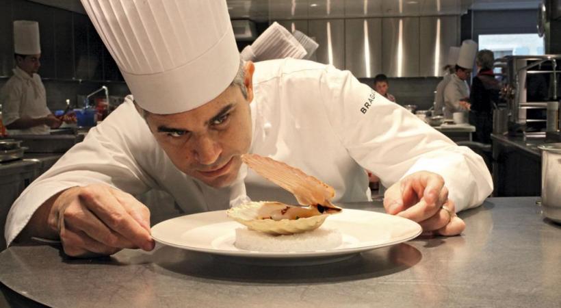 Le chef cuisinier franco-suisse Benoît Violier