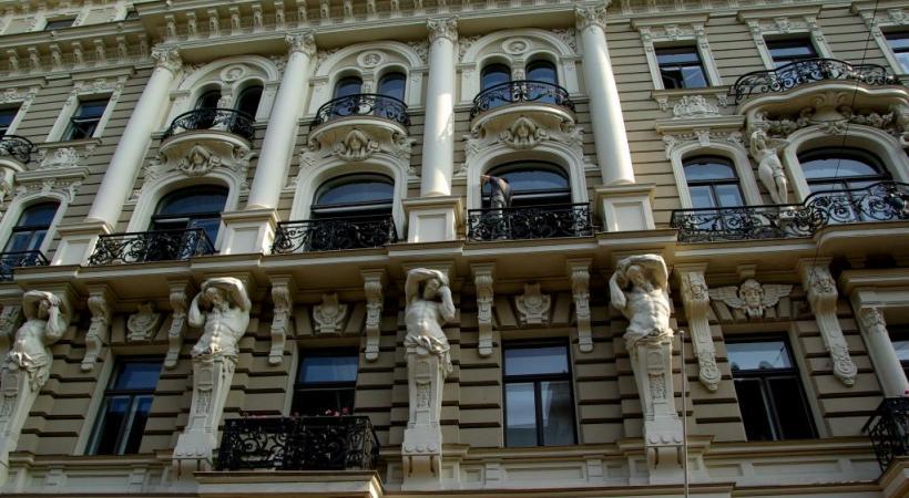 Riga (Lettonie) a de quoi émerveiller les amateurs d'architecture.
