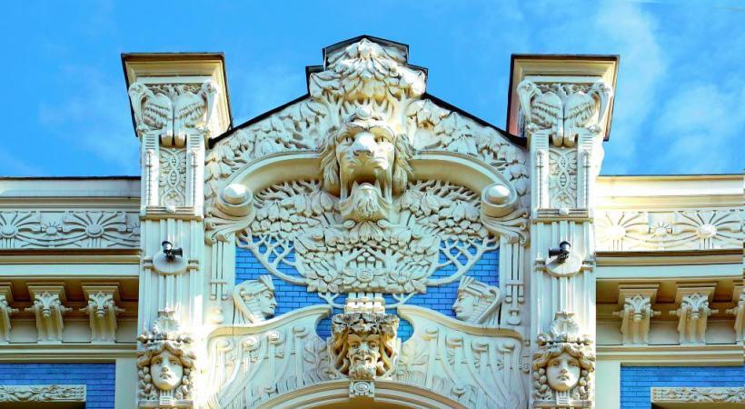 A Vilnius (Lituanie), l'église St-Constantin et St-Michel. DR