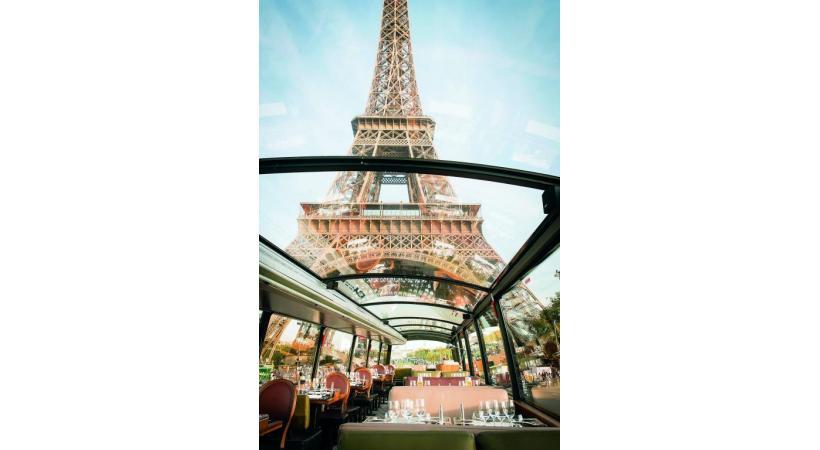 Paris est réputée pour la beauté de ses bâtiments, le côté typique de ses rues et sa représentation de la gastronomie française. DR