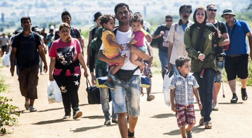 Des bénévoles en nombre pour aider les migrants