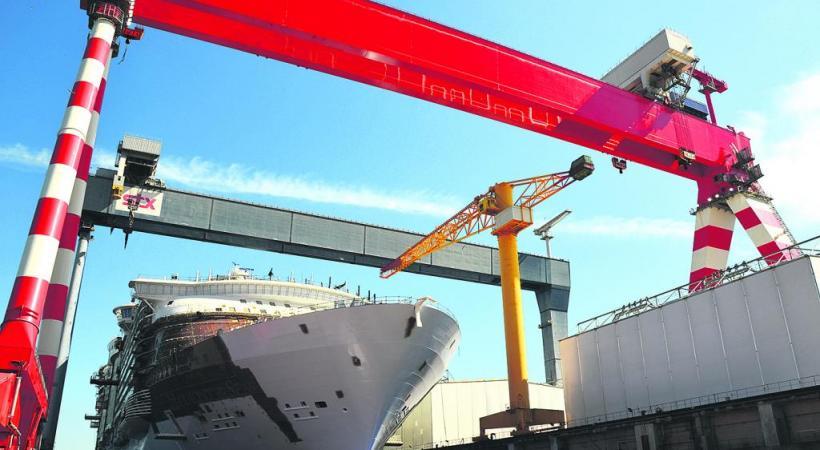 Le plus grand paquebot du monde effectuera ses premières croisières publiques à partir du mois de mai. A. KLOSE/SNTP