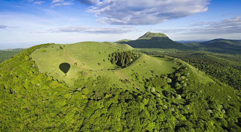 La France des volcans, l'Auvergne, est connue des touristes du monde entier.
