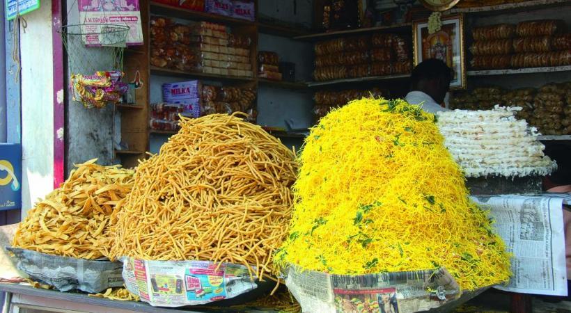 La nourriture au Kerala est un concentré de couleurs et parfums de l'Inde.