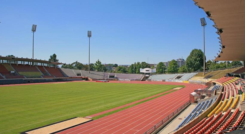 Un stade bâti en 1954 qui fait désormais partie du patrimoine lausannois. dr