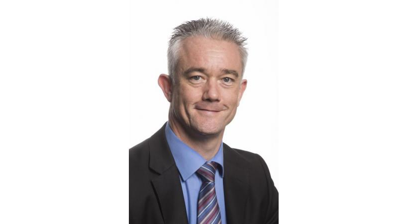 Pierre Contat, député UDC valaisan, secrétaire général de l'ASAVS. dr