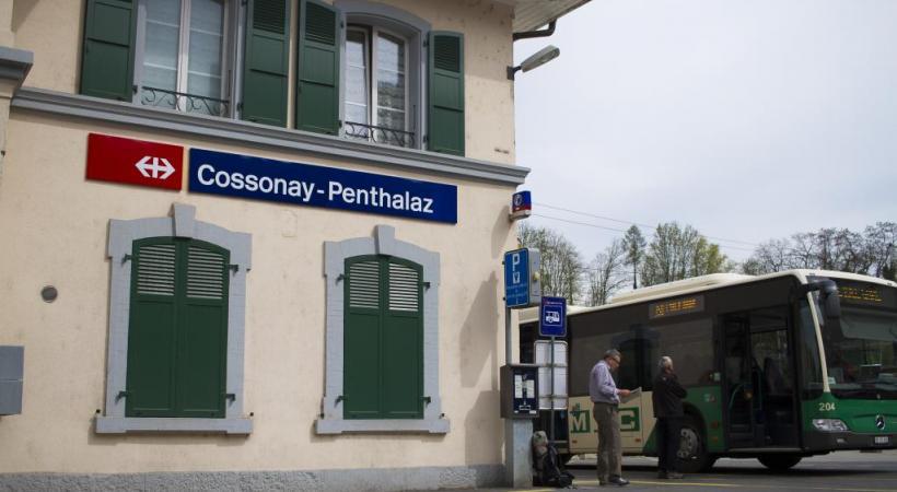 La première étape indispensable à la modernisation de la gare de Cossonay-Penthalaz a été franchie. MISSON