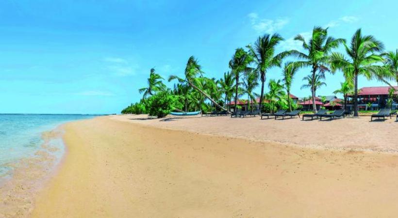 La plage de Passikudah est l'une des plus belles de la côte Est. On peut s'y rendre en voiture ou… en hydravion. ALAIN BOSSU
