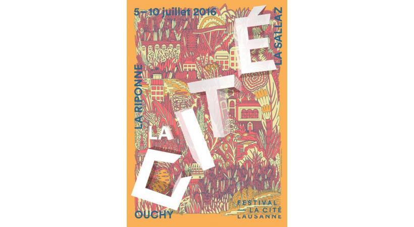 Affiche du Festival de la Cité. DR