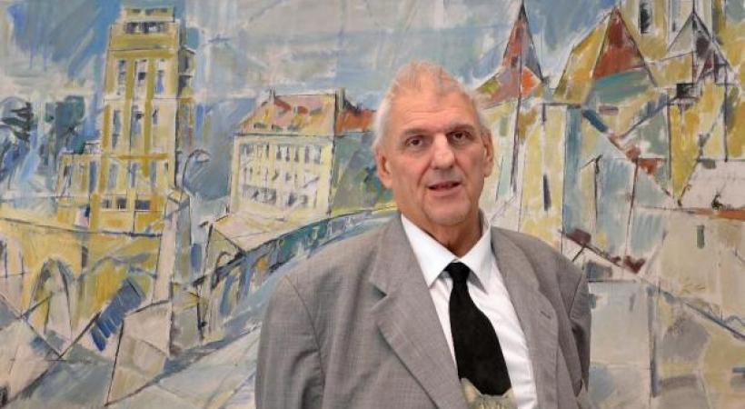 Daniel Brélaz, ex-syndic de Lausanne, Conseiller National Les Verts. DR