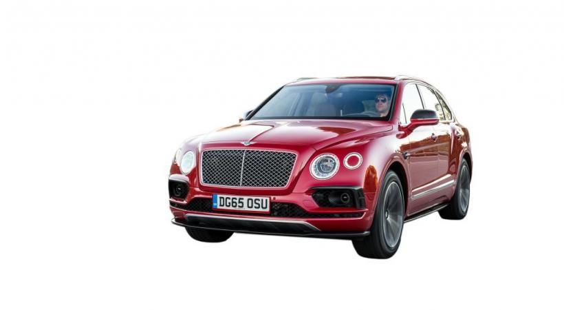 Le SUV Bentley BENTAYGA dans tous ses états... DR
